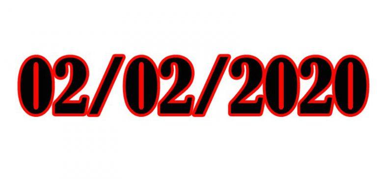 02/02/2020 il giorno palindromo è arrivato