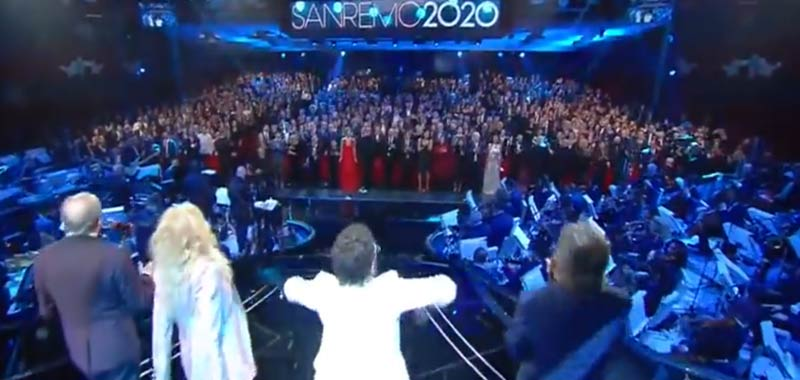 Il meglio della terza serata del Festival di Sanremo