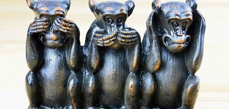 Chi sono le tre scimmiette sagge?