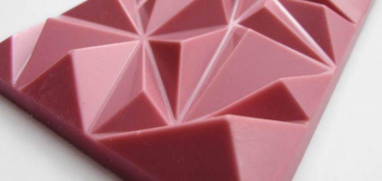 Ruby, il cioccolato rosa che esiste in natura