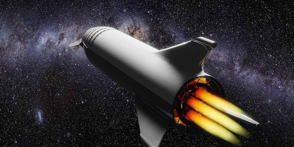 Elon Musk mostra la catena di montaggio del razzo Starship